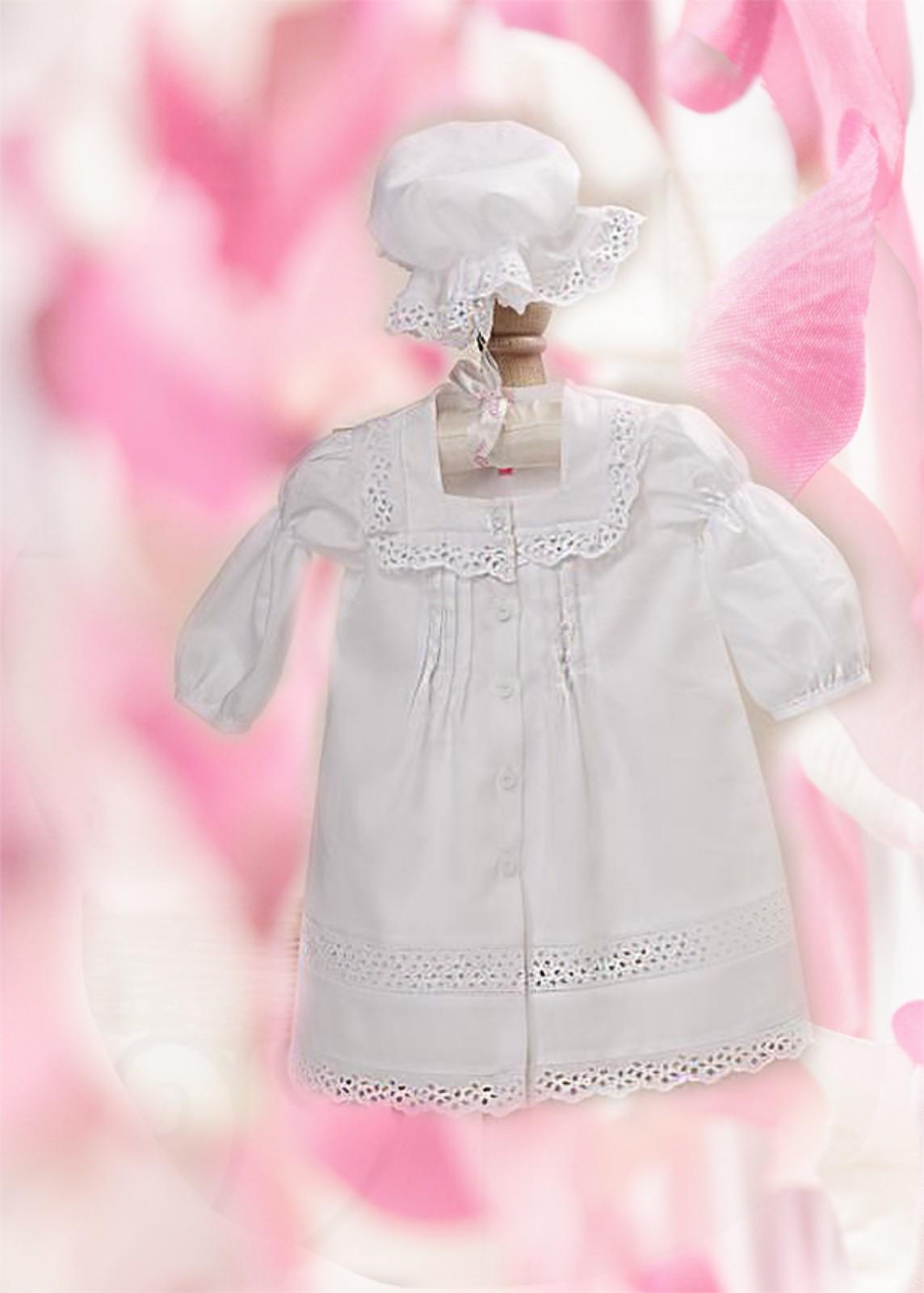 Нарядное крестильное платье для девочки своими руками 46